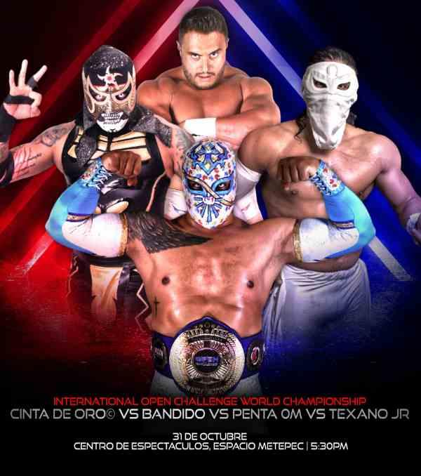 Campeones de AEW, ROH y Triple A lucharán por el IOCW Championship